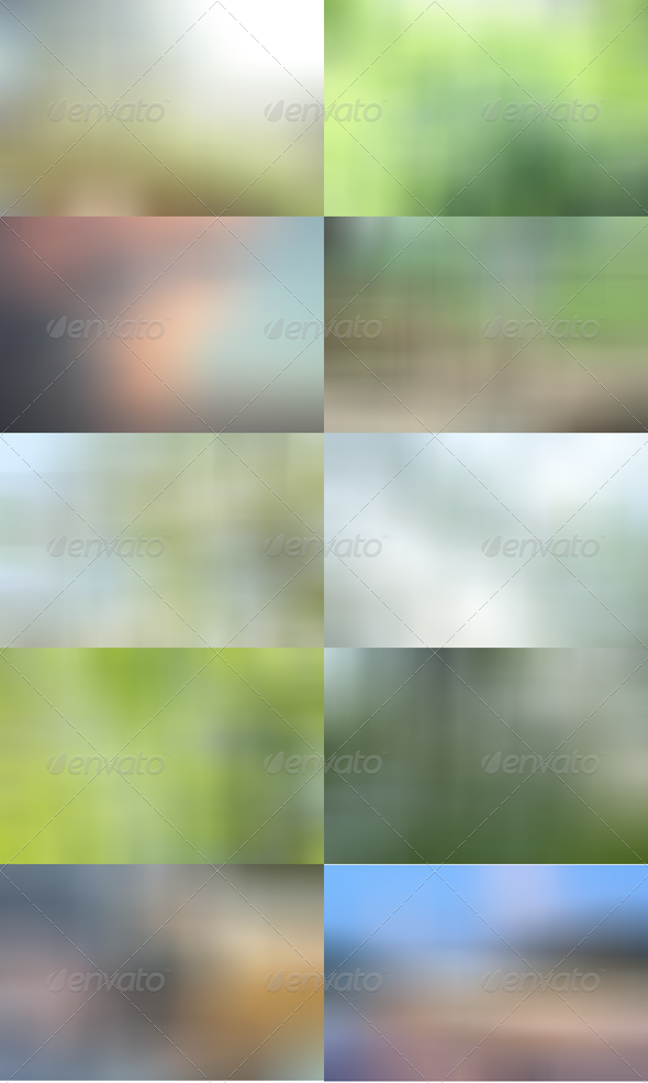 Blurred HD Backgrounds Pack 2 - Patterns Backgrounds