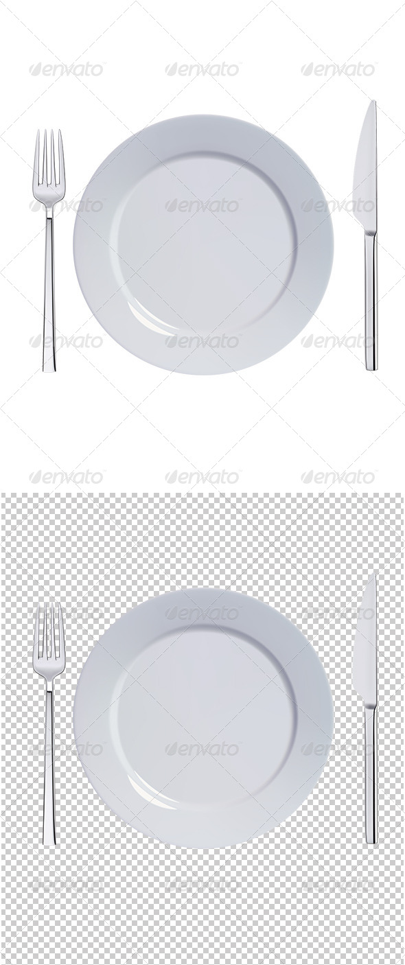 Dinner Plate Set - Man-made Objects Objects