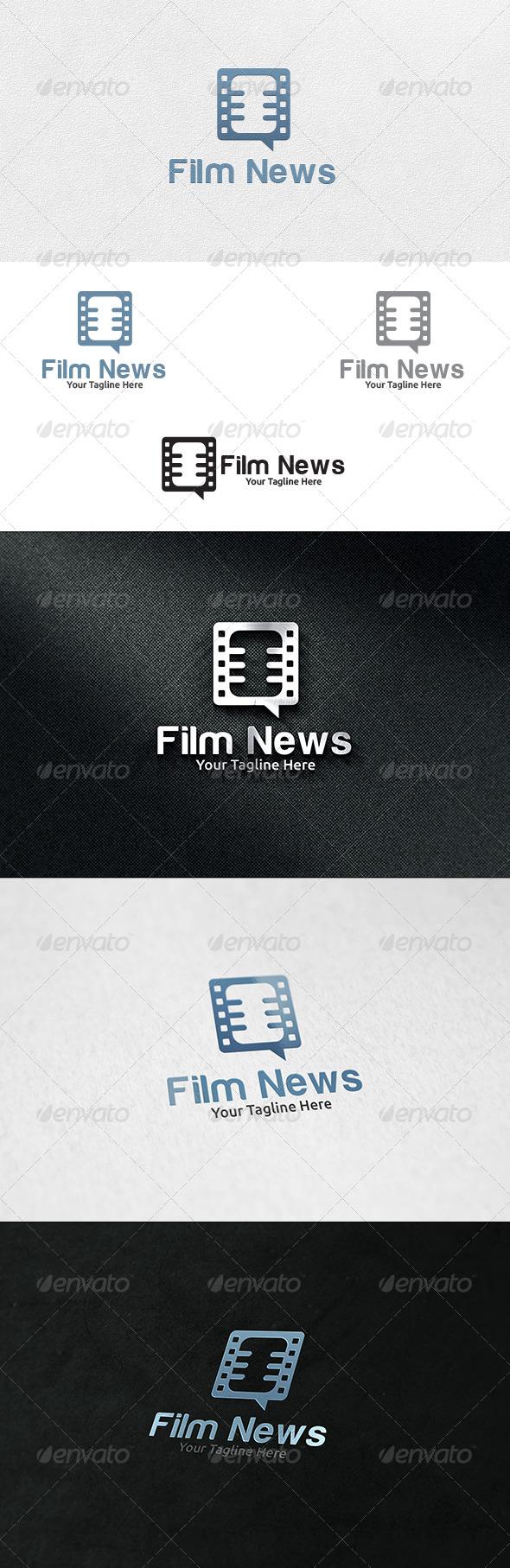 Film News - Logo Template - Symbols Logo Templates
