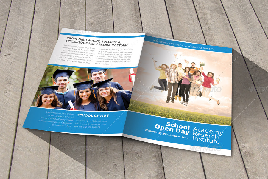 welcome brochure template - school welcome brochure template by braxas graphicriver