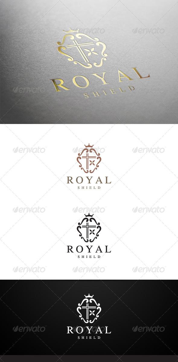 Royal Shield Logo - Crests Logo Templates