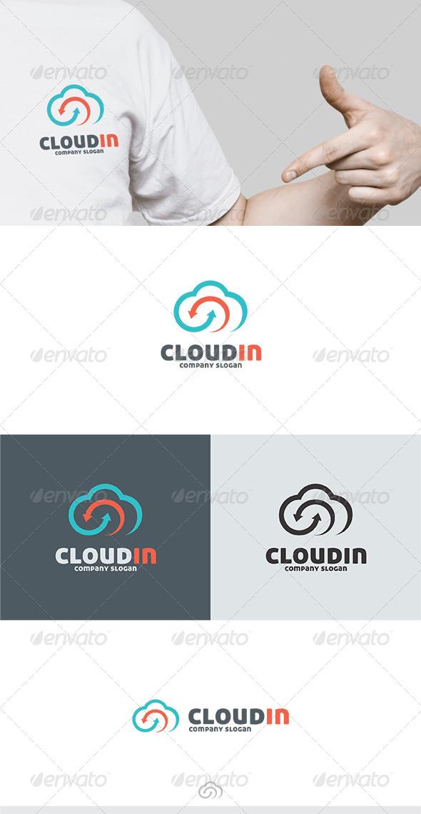 Cloudin Logo - Symbols Logo Templates