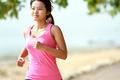 beautiful girl running on the beach - PhotoDune Item for Sale