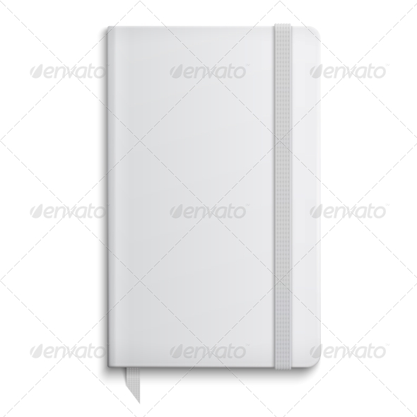 Blank Copybook Template  - Man-made Objects Objects