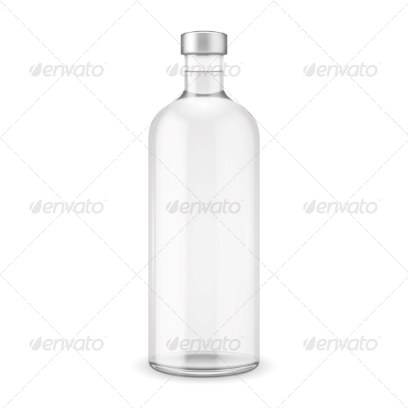 Glass Bottle - Food Objects
