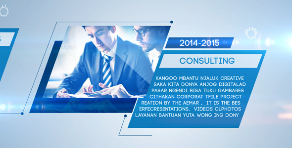 Clean Corporate Timeline By AeMar VideoHive - Timeline after effects template