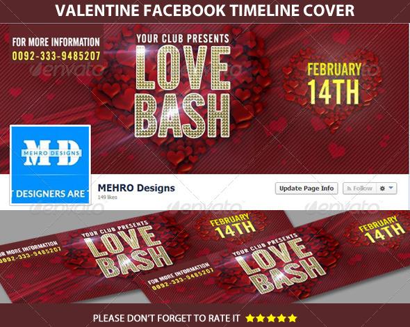 Valentine Facebook Timeline Cover - Facebook Timeline Covers Social Media