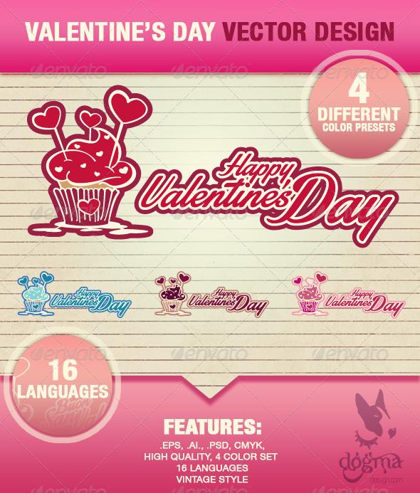 Happy Valentine's Day Illustrations - Valentines Seasons/Holidays