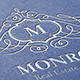 Monroe Letter Crest Logo - GraphicRiver Item for Sale