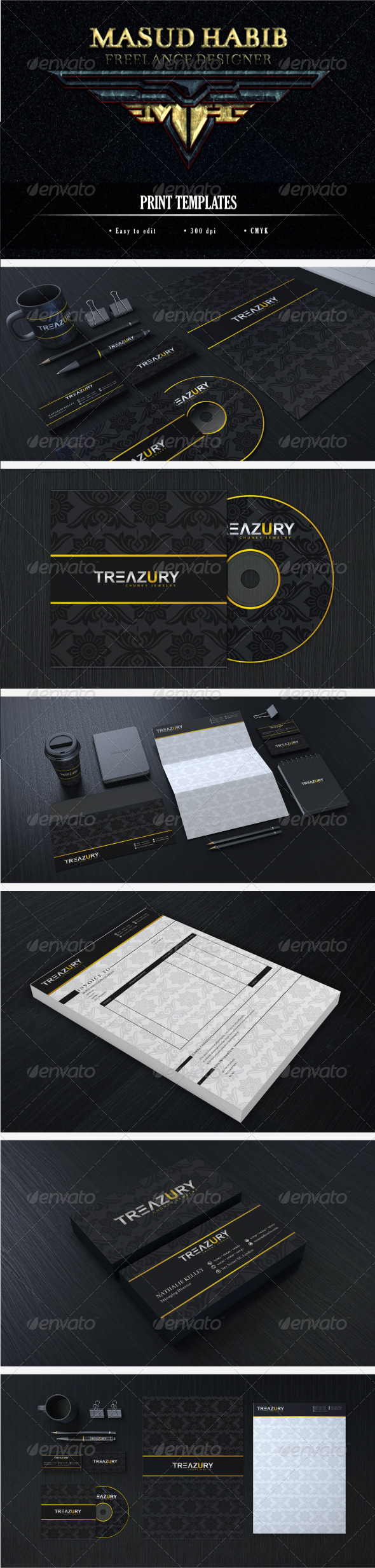 Creative Corporate Identity 16 - Stationery Print Templates