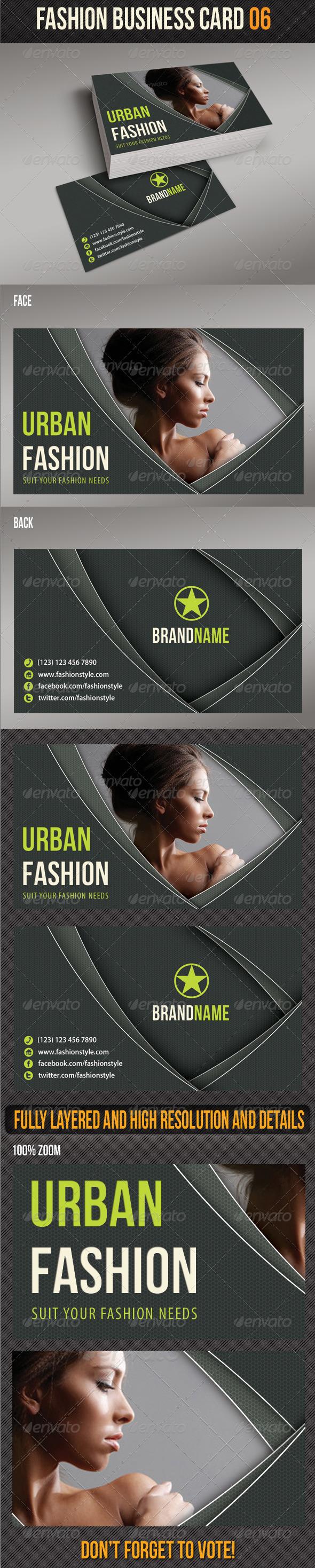 Fashion Business Card 06 - Creative Business Cards