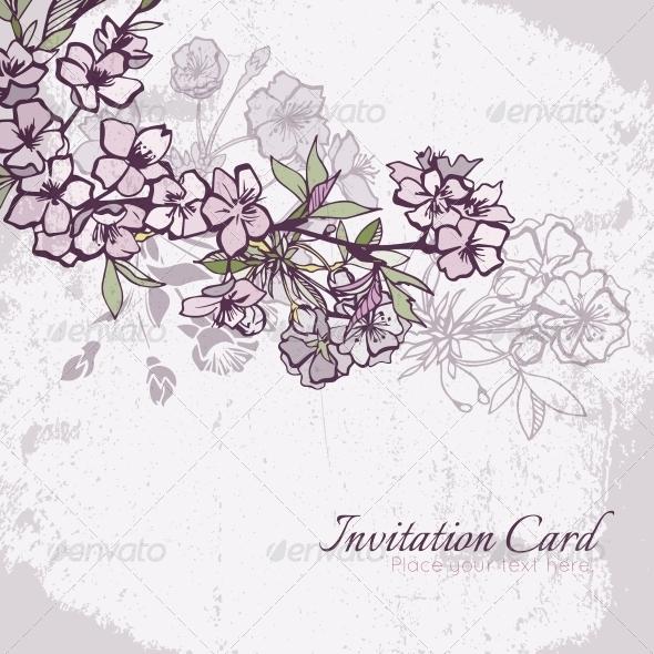 Cherry Blossom Seamless Pattern - Weddings Seasons/Holidays