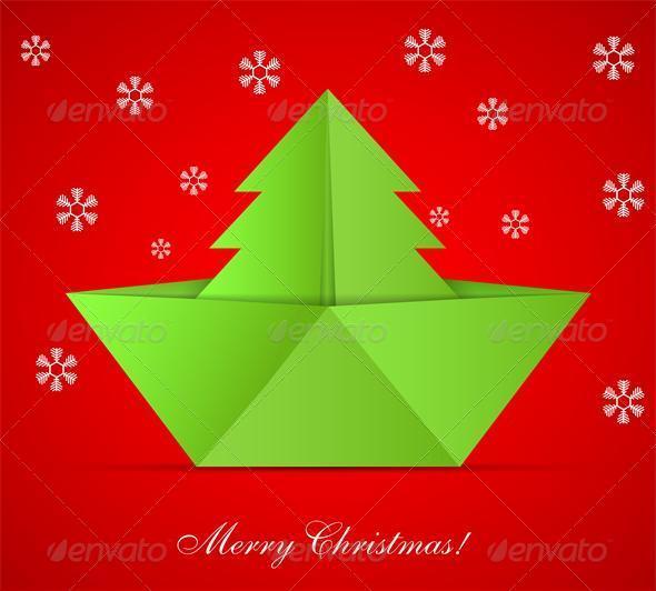 Concept of the Christmas Tree - Christmas Seasons/Holidays