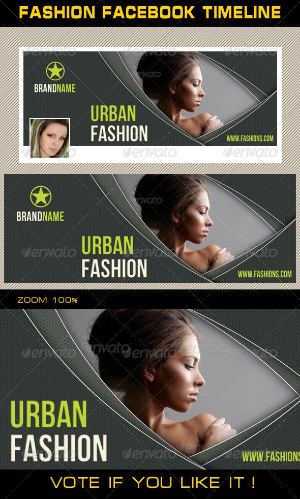 Fashion Facebook Timeline 07 - Facebook Timeline Covers Social Media