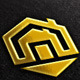 Hexagon, House Vector Logo Template - GraphicRiver Item for Sale