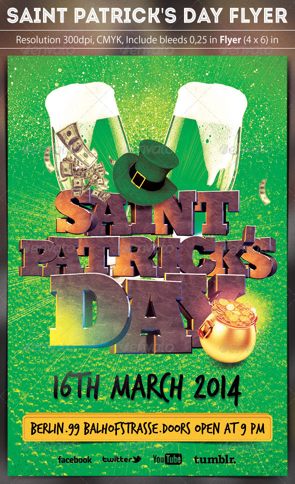 Saint Patricks Day Party - Clubs & Parties Events