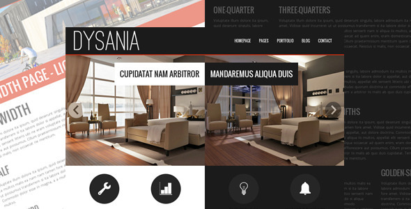 Dysania- Responsive Multi-Purpose HTML Template - Business Corporate