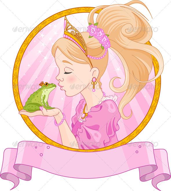 Princess and Frog - Valentines Seasons/Holidays