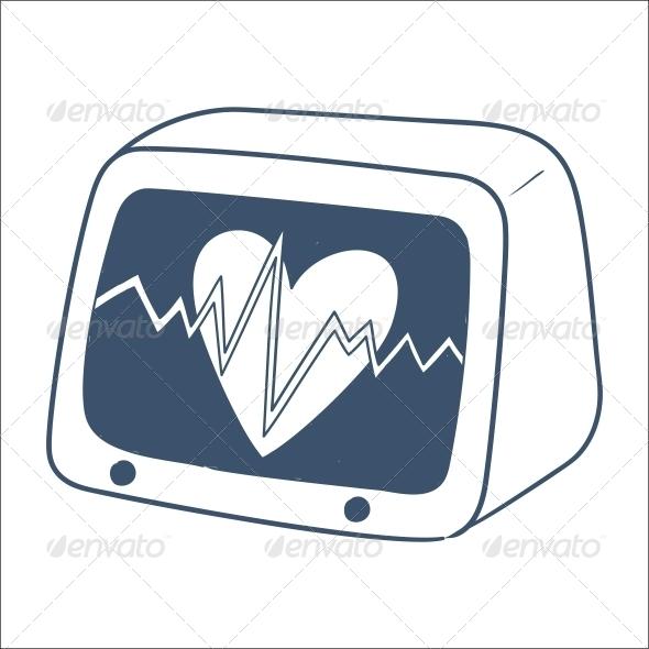 Pulse Monitor - Health/Medicine Conceptual