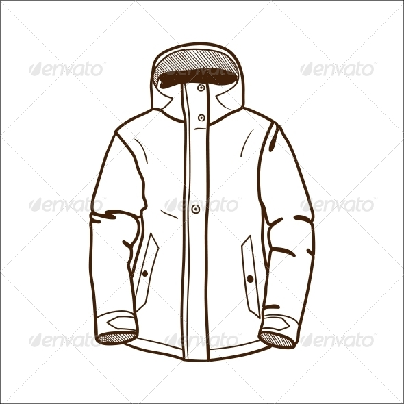 Winter Sport Jacket - Miscellaneous Vectors