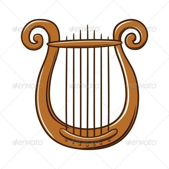 Lire Musical Instrument - Valentines Seasons/Holidays