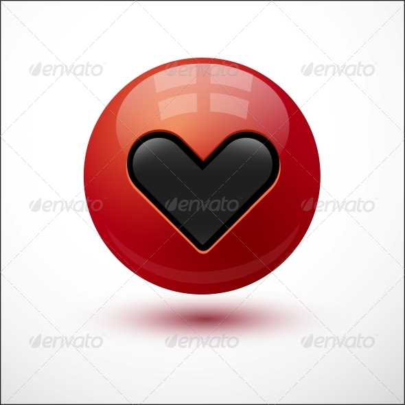 Heart on Red Bubble - Valentines Seasons/Holidays