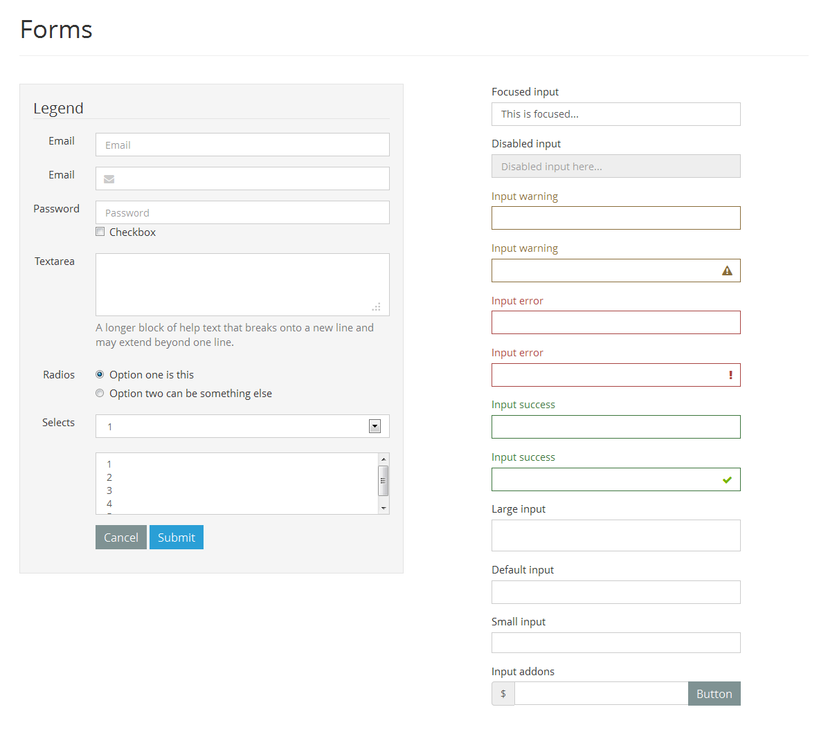 CSS3 Responsive Forms Pack by jnix_tech | CodeCanyon