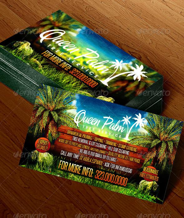Gardening Business Card 1 - Business Cards Print Templates