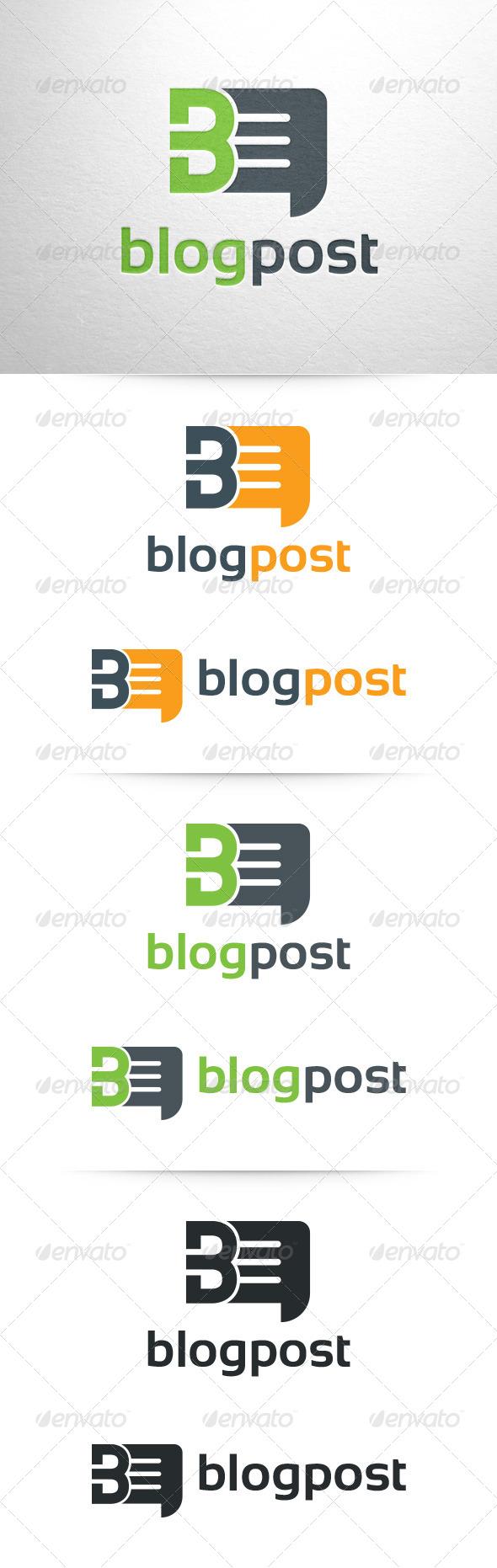 Blogpost - Letter B Logo - Letters Logo Templates