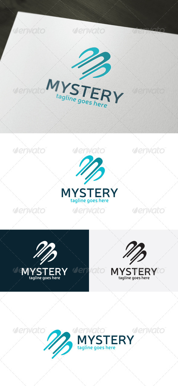 Mystery Logo - Vector Abstract