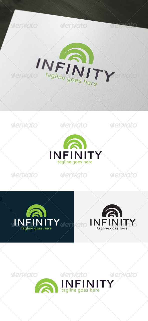 Infinity Logo — Abstract - Vector Abstract