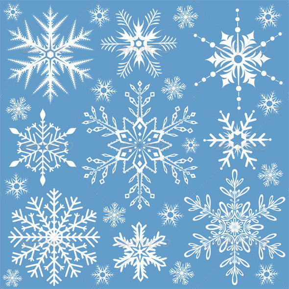 Snowflakes collection - Christmas Seasons/Holidays
