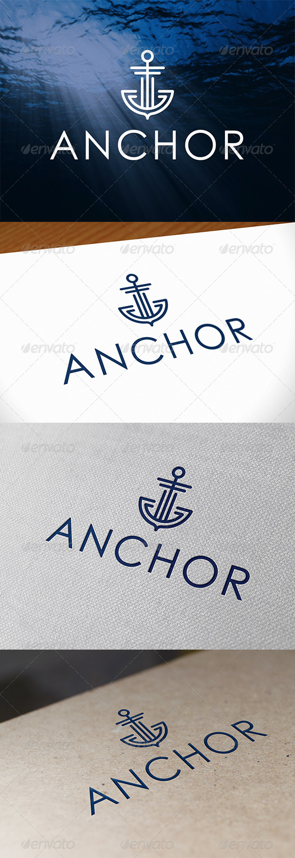 Anchor Logo Template - Abstract Logo Templates