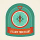 Follow your Heart - GraphicRiver Item for Sale