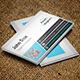 Modern Blue Business Card Vol.3 - GraphicRiver Item for Sale