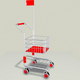 Childrens Shopping Cart - 3DOcean Item for Sale