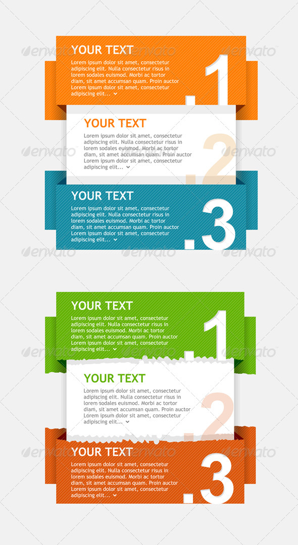 Speech Templates for Text  - Backgrounds Decorative