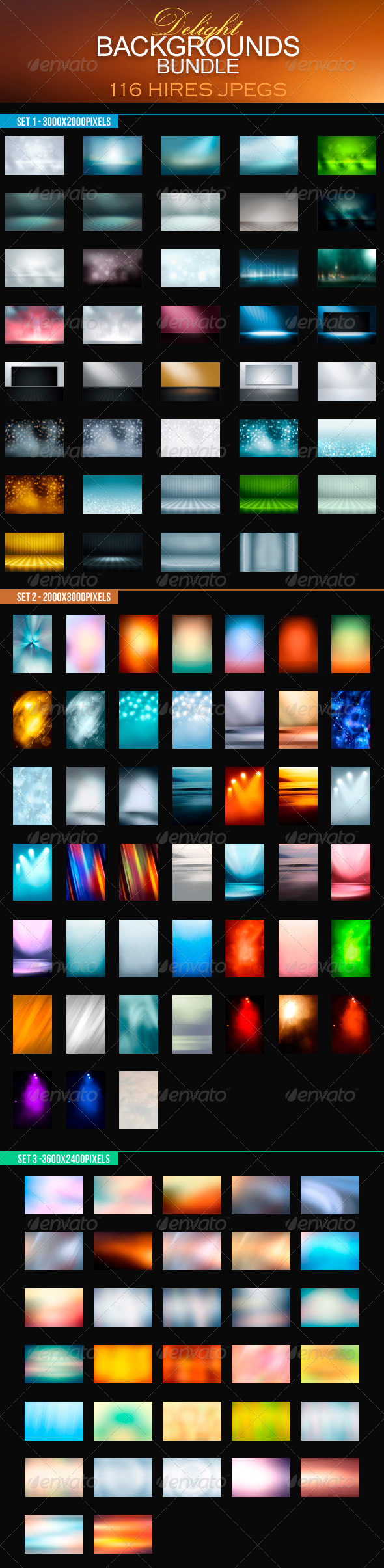 Delight Backgrounds Bundle - Backgrounds Graphics