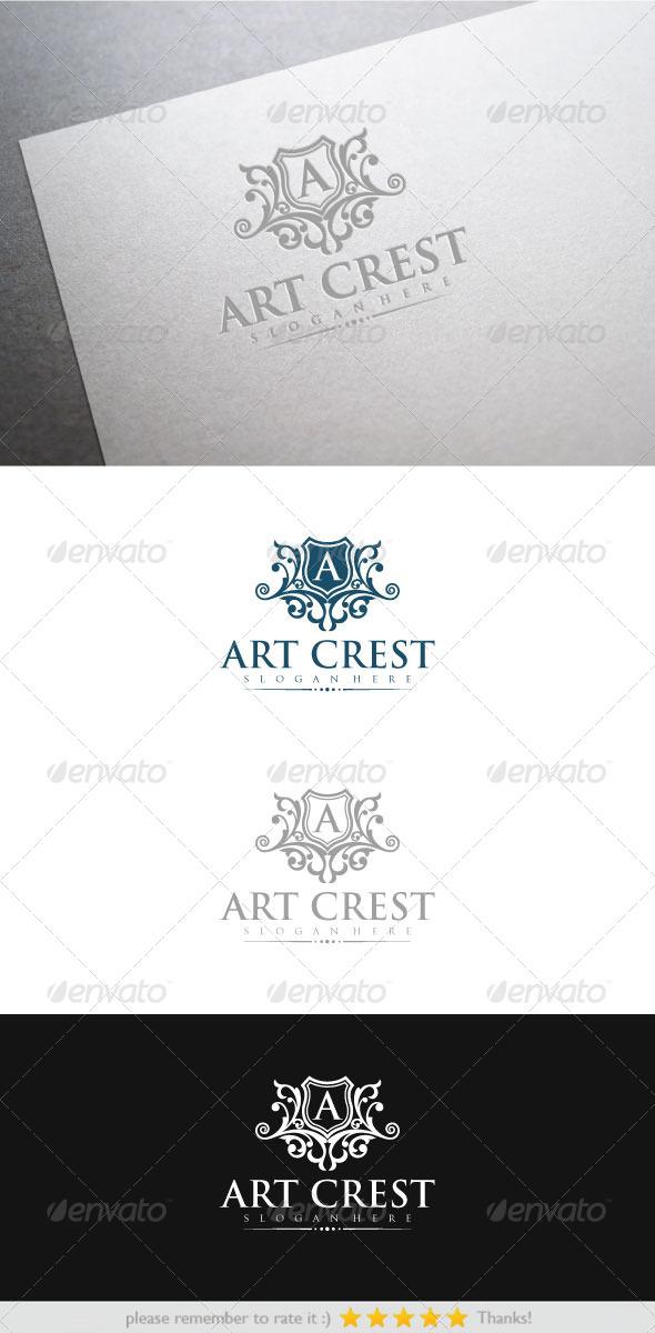 Art Crest - Crests Logo Templates
