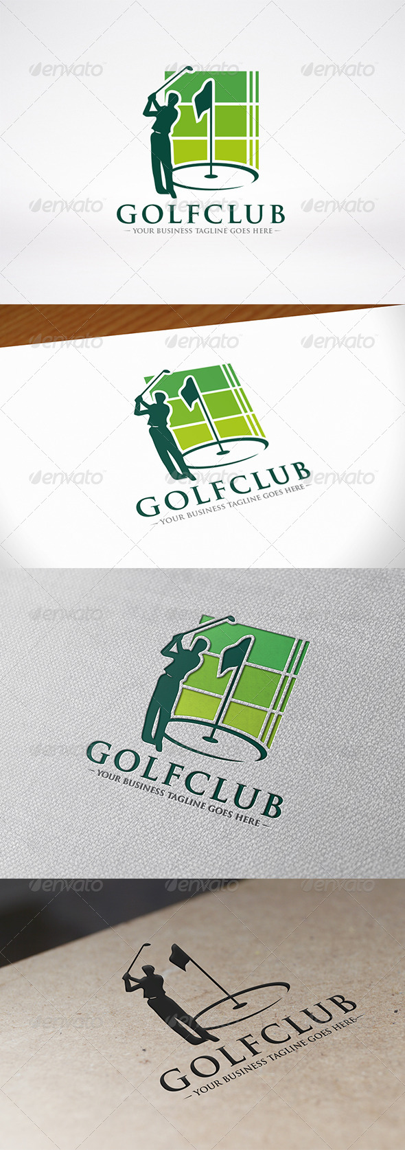 Golf Logo Template - Humans Logo Templates