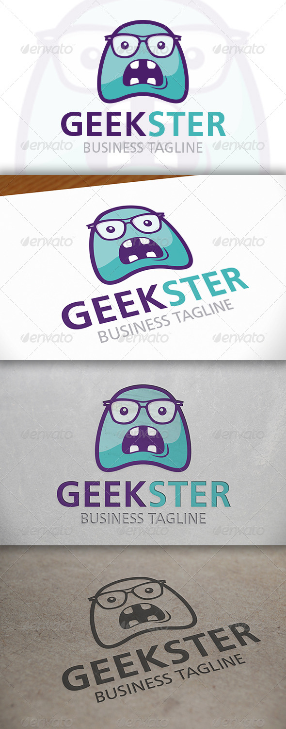 Geek Monster Logo - Humans Logo Templates