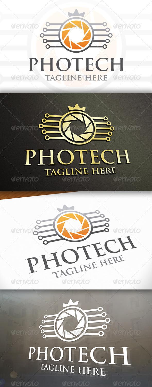 Photo Tech Logo - Objects Logo Templates
