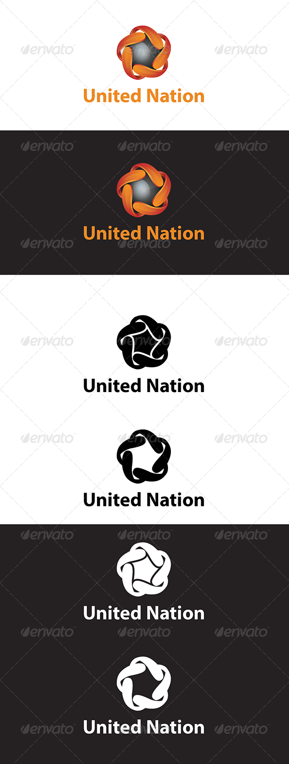 United Nation - 3d Abstract