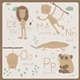 Zoo Alphabet L - P - GraphicRiver Item for Sale