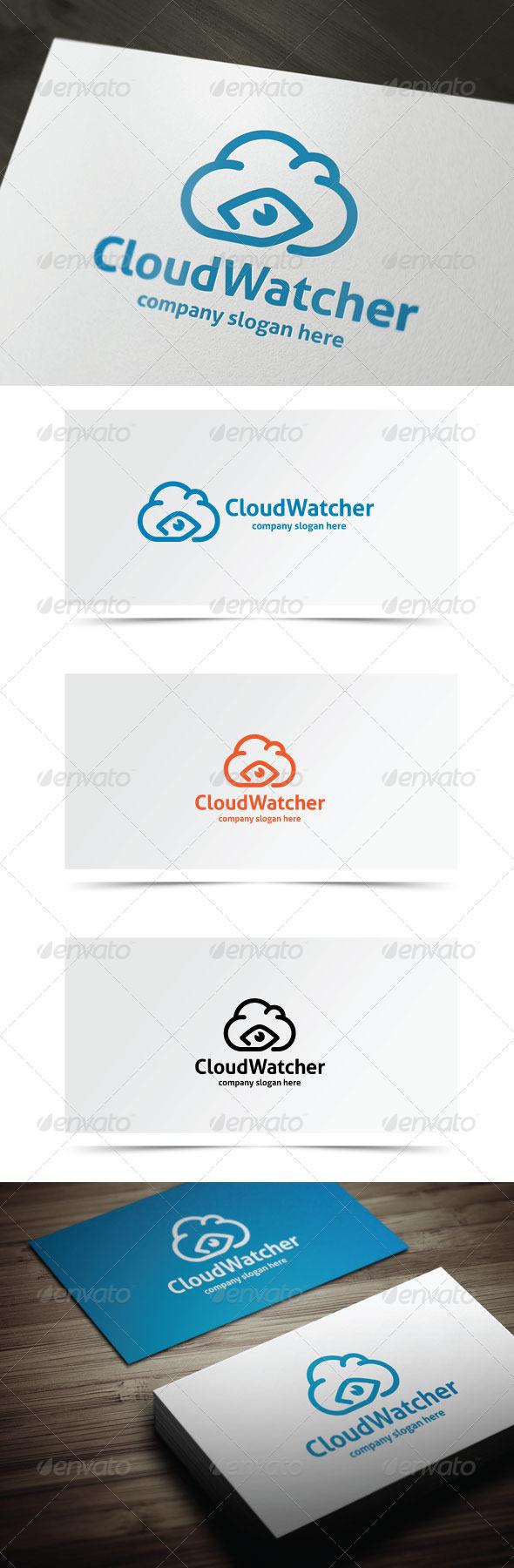 Cloud Watcher - Objects Logo Templates