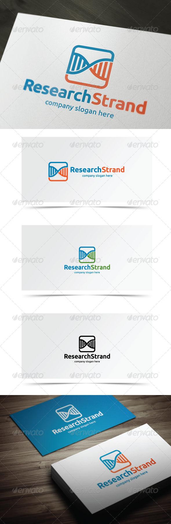 Research Strand - Symbols Logo Templates