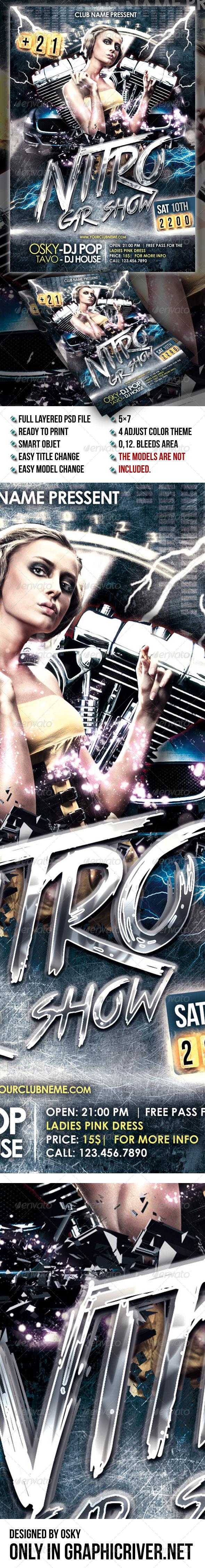 Nitro Car Show - Clubs & Parties Events