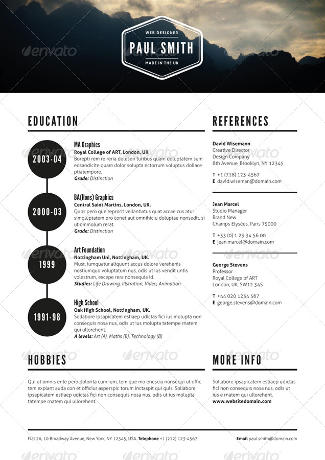 job resume by ikonome