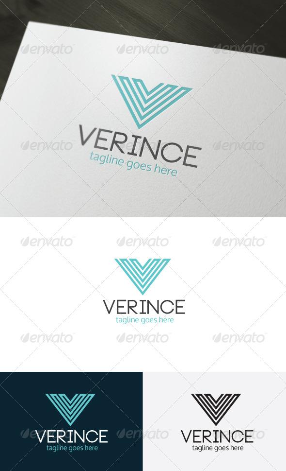 Verince Logo — Letter V - Letters Logo Templates