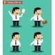 Businessman in Poses Standing Set - GraphicRiver Item for Sale